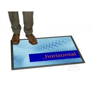 Podlahový plakátový systém FloorWindo