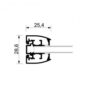 Světelný rám s LED diodami