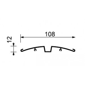 orientační cedulky Sign system Curved