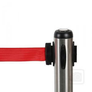 bariérový sloupek s flexi pásem